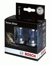 P 2 x BOSCH 1987301087 H7 12V/55W Halogen Lamp Light PX26d XENON EFFECT BLUE
