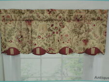 Waverly Imperial Dress Antique Jacqueline Lined Valance 52 W x 18 L NEW