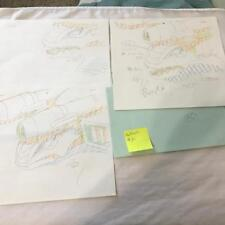 TRANSFORMERS JAPANESE BEAST WARS 2 II PRODUCTION ART HALFSHELL LOT 72