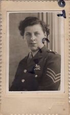 WW2 lady  ATS Auxiliary Territorial Service attached to West Yorkshire Regiment
