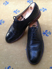 Oliver Sweeney Men's Shoes Black Leather Lace Up UK 9.5 US 10.5 EU 43.5 Brogue