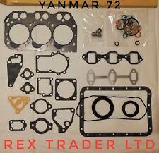 Gasket Kit Yanmar 3T72, 3TN72, 3TNA72UJ, John Deere F935, 72mm bore 3 Cyl