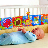 Kids Animal Cloth Book Infant Baby Intelligence Development Soft Toy Bed Cognize