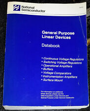 Used 1982 National General-Purpose Linear Devices Databook