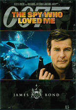 The Spy Who Loved Me (1977) Roger Moore -  Barbara Bach. DVD