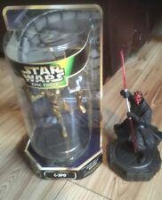 Star Wars Force épica C-3PO - Darth Maul girar figura 360 Kenner 1997