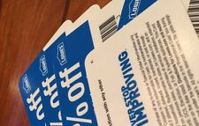 2 Lowes 10%-Off-Coupon BLUE CARDS!! Expire 10/31/2017 Works at Lowes