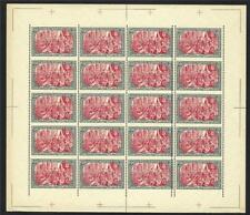 Germany 1900 Variety #6 horiz perf lines missed & 3mm doubled sheet MNH FORGERY