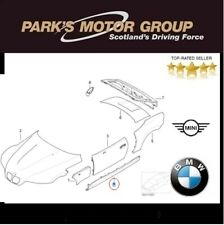 BMW Genuine Pair Of Sill Panel Thin (With Rear Thin Side Panel) Z3. 649 / 650