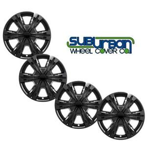 "2016-2017 GMC Terrain SL/ SLE / SLT 18"" Black Wheel Skins # IMP396BLK NEW SET/4"