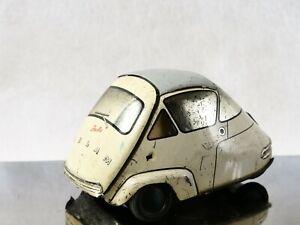 Gaspard Gaubier France Isetta VELAM 1956 tôle 10 cm tintoy pour restauration