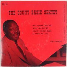COUNT BASIE SEXTET: Organ Blues USA CLEF Jazz EP 45 Super
