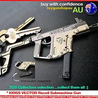 PUBG Large Metal Kriss Vector Collectors Gun Keyring Kriss Vector Gun Keychain