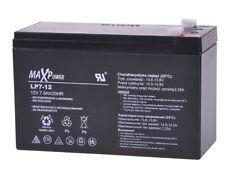Batterie gel 12V 7Ah MaxPower caravanes caisse motos quad jouets véhicule