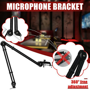 Microphone Condenser Microphone Stand Articulated Armrest 360°Free Ajustment CH
