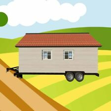 Tiny House on Wheels Plans CAD Drawings on CD Build A Home on a Trailer