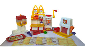 Vtg McDonalds Happy Meal Magic Snack Maker Burger/Fries/Fountain Drink