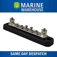 Buss Bar 10 point terminal- 150AMP Rating Marine Grade W/ locking washers - 5461