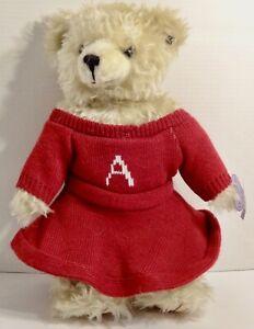 "ANNETTE FUNICELLO BEAR CO PLUSH BEAR 15"""
