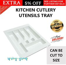 Cutlery Tray Kitchen Utensil Organiser Drawer Insert Divider Fork Knife Knives