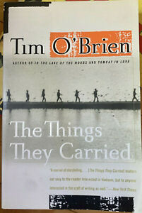 The Things They Carried - Tim O'Brien - 1998 1st ED. - NEAR MINT CONDITION!