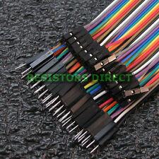 20cm DuPont Male to Female 40pcs Breadboard Jumper Wire Arduino Raspberry Pi W14