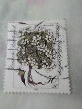 ALLEMAGNE FEDERALE, 1983, timbre 1020, FLEURS, ANDROSACE HELVETICA, oblitéré