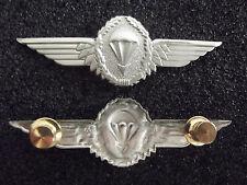 (A26-002) Bundeswehr Fallschirmjäger Fallschirmspringer Abzeichen Silber