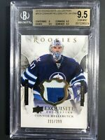 2015-16 Exquisite Connor Hellebuyck Rookie /299 BGS 9.5