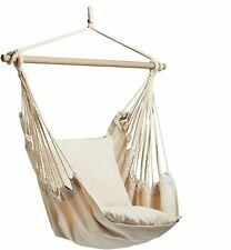 Hanging Chair – Swinging Hammock with Cushioned Seat – Swing Chair G
