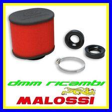 Filtro Aria MALOSSI E15 Ø60 dritto carburatori DELL'ORTO PHBG 15 21 PHBL 20 26