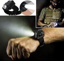 Wrist Light Lamp Rechargeable & Tactical R2 LED Flashlight Wristlight LED Watch