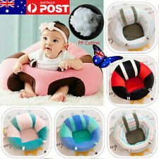AU Cotton Baby Kids Support Seat Soft Chair Cushion Sofa Plush Pillow Toys Pads