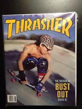 SALBA Steve Alba Santa Cruz June 1987 Thrasher Skateboard Magazine