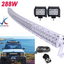 50Inch white Led Light Bar for Curved Truck Off road Suv atv utv