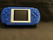 Handheld Video Game Player With 268 Classic Video Games. Blue