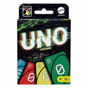 UNO Card Game Iconic Series Anniversary Edition 2000's