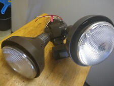 Brightmond Motion Activated Outdoor Flood Light New Bulbs Included