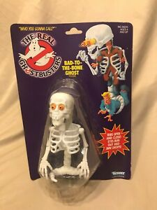 The Real Ghostbusters Bad To The Bone Ghost Toy 1980's Vintage Kenner Carded