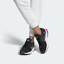 adidas Womens Falcon 2000 Blak 90s running style shoes