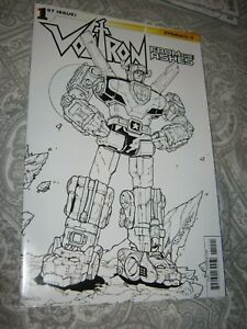 Variant Comic Book Dynamite 2015 NM+ 9.6+ Voltron From Ashes 1 Scarce Low Print