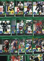 5000 Hockey Cards - Gretzky, Bure, Bourque - 1995-96 PLAYOFF ONE ON ONE