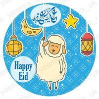 30 Eid Mubarak Stickers Sheep Eid Al Adha Decorations Cards DIY Cupcakes Picks