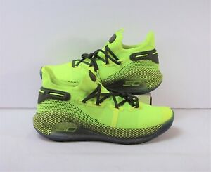 Under Armour Curry 6 Coy Fish Yellow Basketball Shoes Sz 11 NEW 3020612 302