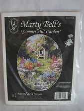 Marty Bell Cross Stitch Kit Summer Hill Garden Jeanette Crews Pegasus