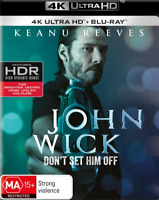 John Wick (Keanu Reeves) UHD 4K Blu-ray Region B New!