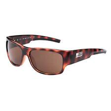 Gafas de sol de hombre marrón rectangular, con 100% UVA & UVB