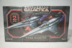 Moebius Models Battlestar Galactica Viper Mk VII Twin Pack 1:72 Scale Model Kit