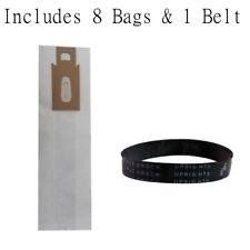 Oreck XL Vacuum Bags PK800025 PK80009 8 pack + 1 Belt (Generic)