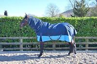 Lightweight full neck combo turnout rug/rain sheet - horse & pony sizes